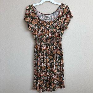 Chelsea & Violet Floral Hippie Dress